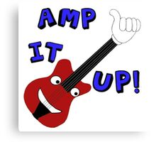 Amp It Up Canvas Print