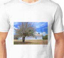 Blooming Apple Tree, Sangre De Cristo Chapel, N.M Unisex T-Shirt