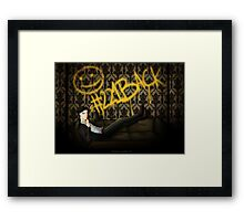 #221Back Framed Print