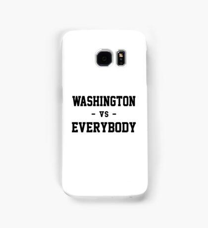 Washington vs Everybody Samsung Galaxy Case/Skin