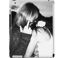 touch her and i'll kill you iPad Case/Skin
