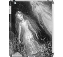Water Sisters - grayscale iPad Case/Skin