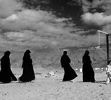 Bedouin Women Sinai  by John Wreford
