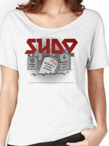 SUDO - Heavy Metal Sysadmin Women's Relaxed Fit T-Shirt