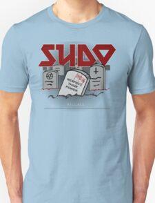 SUDO - Heavy Metal Sysadmin T-Shirt