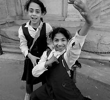 Cairo School Girls by John Wreford