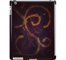 Maroon Swirl iPad Case/Skin