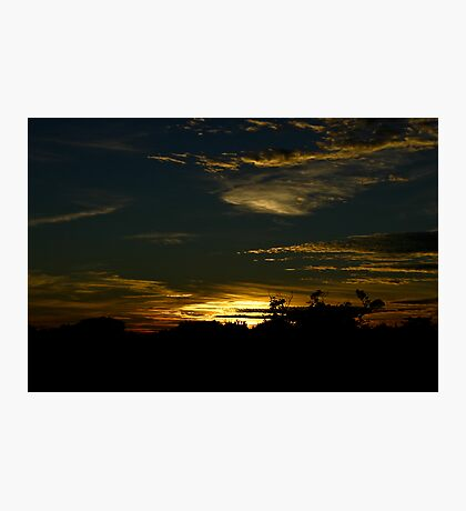 Night sky at Glovers Photographic Print
