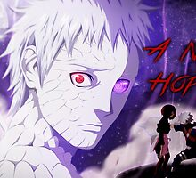obito poster a new hope  by xdreeamzz