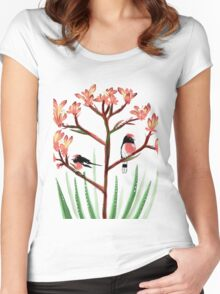 red belly robyns Women's Fitted Scoop T-Shirt