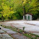 Old railway by Kostas Pavlis
