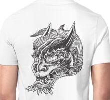 Japanese Oni Head Unisex T-Shirt
