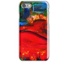 Kangaroos in Town iPhone Case/Skin