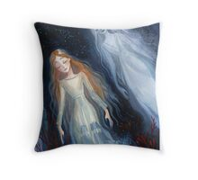 Water Sisters Throw Pillow