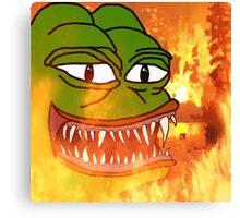 Hell Pepe Canvas Print