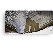 Reflections of New York Canvas Print