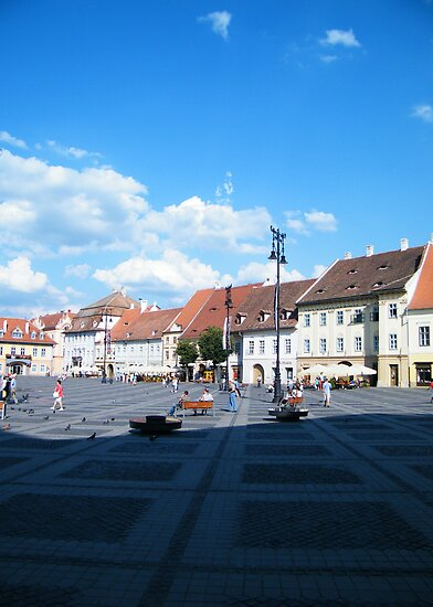 Center of Sibiu by costy33
