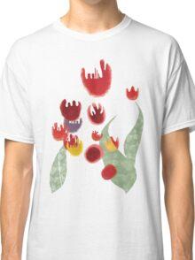 Tulips garden flora surf tropic island paradise pullover sweatshirt Classic T-Shirt