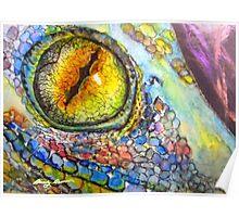 Lizard Eye Poster