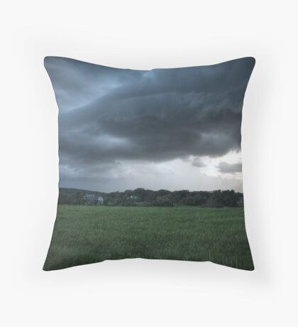 The Storm Front Throw Pillow