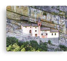Church from the rock Canvas Print