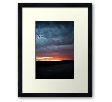 Water, Fire, Earth and Air Framed Print