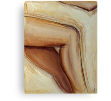 Leg Canvas Print