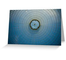Greenhouse dome Greeting Card