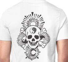 happy hippy skull Unisex T-Shirt