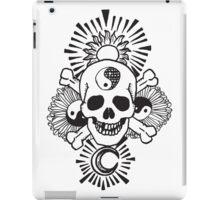 happy hippy skull iPad Case/Skin