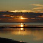 sunset at walpole bay margate by iwasframed