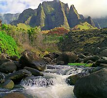 Kalalau Cathedral by kevin smith  skystudiohawaii