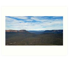 Jamison Valley - Katoomba Art Print