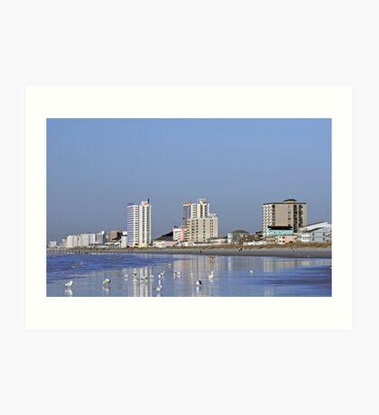 Coastal Architecture Art Print