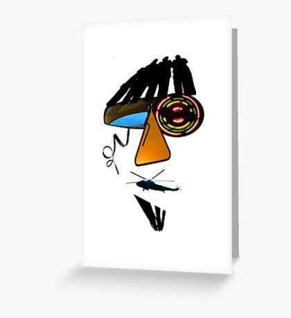 Jazz Man Greeting Card