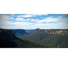 Jamison Valley 2 - Blue Mountains Photographic Print