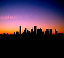 You Left Your Heart in Downtown Houston by myrbpix