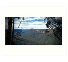 Echo Point - Katoomba Art Print