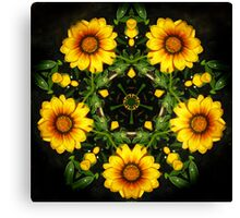 Five Flowers Canvas Print