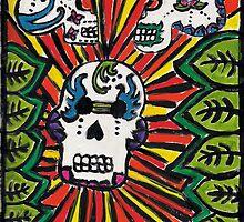 Sugar Skulls by Amanda Abella