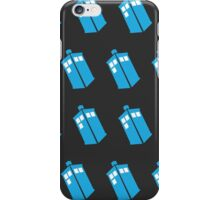 Flying Tardis iPhone Case/Skin