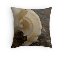 Whelk Shell Throw Pillow