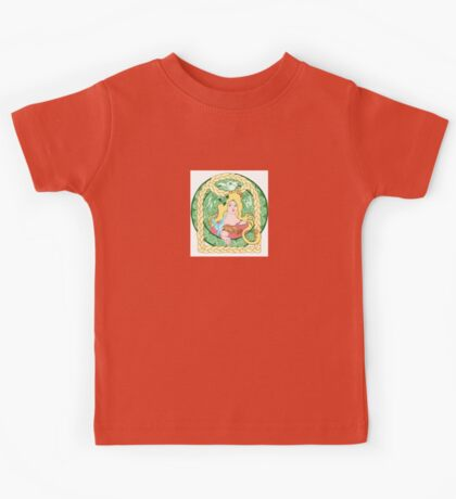 Celtic Birds & Braids Kids Tee