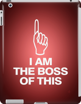 I am the boss of this - pointing up by MsSLeboeuf