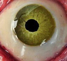ol' green pimple eye Sticker