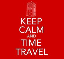 Keep calm and time travel (Doctor who) by Randomthings
