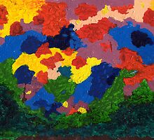 Abstract Colors by Anne Gitto