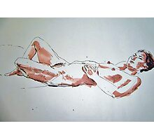 Thuy Linh reclining Photographic Print