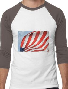 Fabric of Our Freedom Men's Baseball ¾ T-Shirt