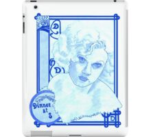 Dinner At Eight iPad Case/Skin